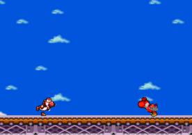 Red Yoshi VS Metal Red Yoshi