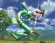 Smash Bros Brawl Rayquaza 2