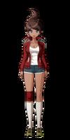 Danganronpa full body sprite - Aoi Asahina