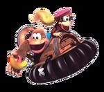 Dixie Kiddie Kong DKC3