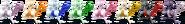 SSBRiot Mewtwo Color Palettes