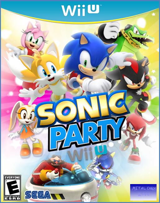 New Wii U Games : Sonic party wii u fantendo nintendo fanon wiki