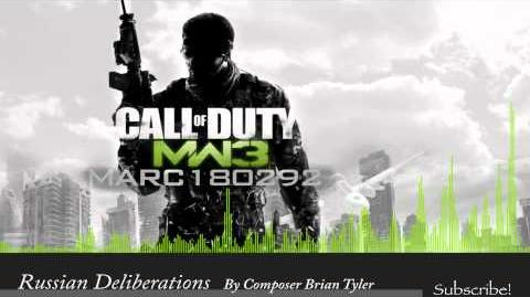 MW3 Soundtrack Russian Deliberations