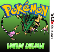 Pokemon Lambda Emerald Boxart