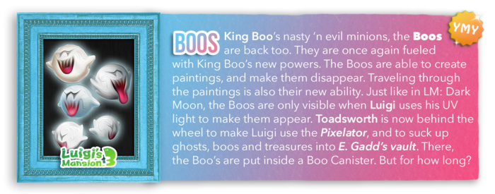 LM3 Character Info - Boos