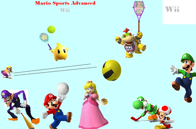 File:Mario Sports Advanced Wii Logo.png