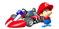 Baby Mario Kart Universe