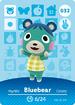 Ac amiibo card bluebear