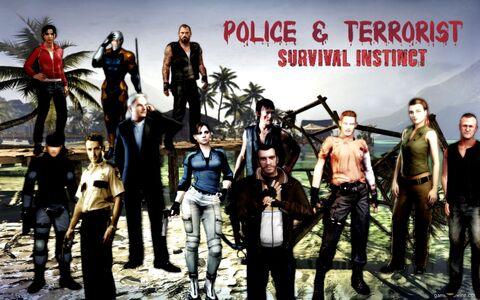 Police&Terrorist Survival Instinct Walpaller