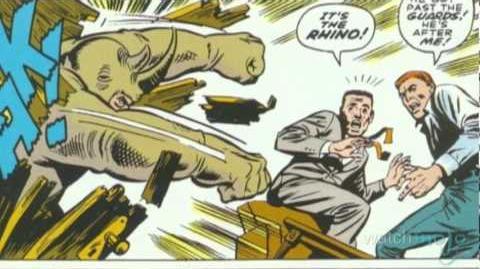 Supervillain Origins Rhino