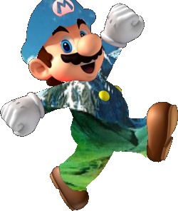 File:Transparent Mario.png