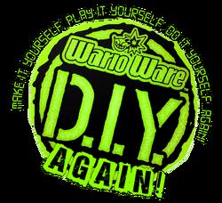 WarioWare DIY Again Logo