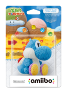 Amiibo - Light Blue Yarn Yoshi - Box