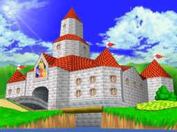 SM64DS-Peach's Castle