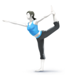 Wii Fit Trainer (SSB Evolution)