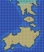 Sepia Desert Map