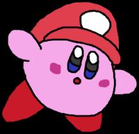 Plumber Kirby - Mario