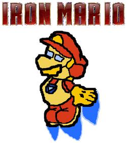 Iron Mario Poster
