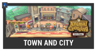 ACL -- Super Smash Bros. Switch stage box - Town and City