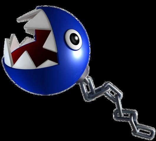 File:Blue Chain Chomp Art.png