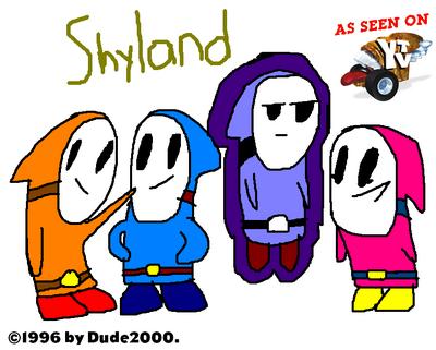 Shyland YTV