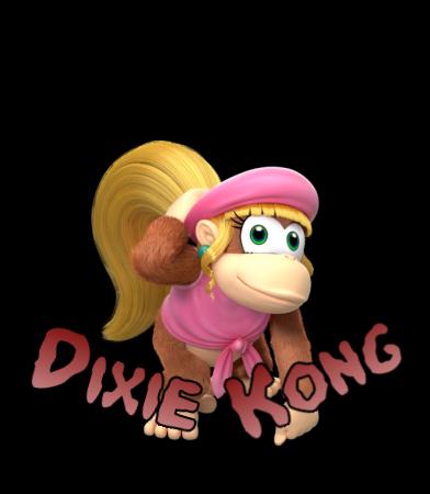 Image - Dixie Kong SSB5 Icon.png | Fantendo - Nintendo ...