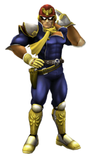 Captain Falcon Sprite SSBB