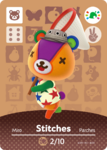 Ac amiibo card special stitches