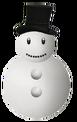 Snowman Happy