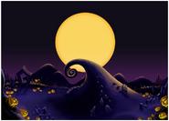 Halloween Town- Curly Hill (Art) KH