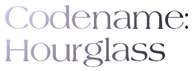 Codename Hourglass Logo