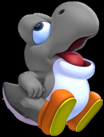 File:Gray Baby Yoshi.png
