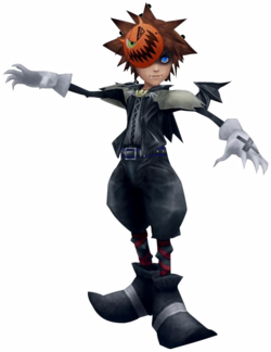 KingdomHeartsIIHalloweenSoraBadge