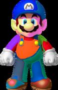 SM3DL2BUR Painted Mario