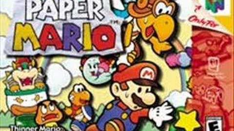 Paper Mario Koopa Bros