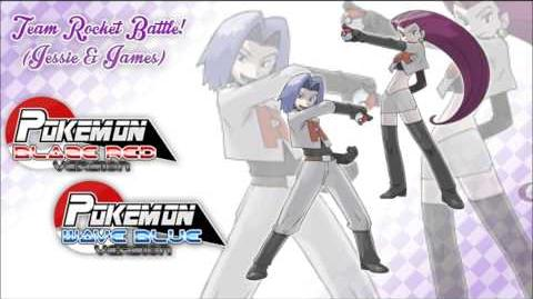 Pokemon BlazeRed & WaveBlue - Vs Team Rocket Trio!