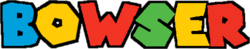 Versus Planet - Bowser logo