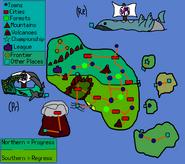 Futumia Map