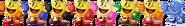 SSBRiot PacMan Color Palettes