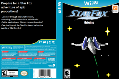 Star Fox Origins Box