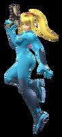 Zero Suit Samus Alpha