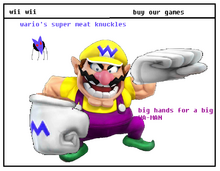 Wario's Super Meat Knuckles