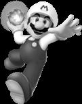 B&W Mario SMW3D