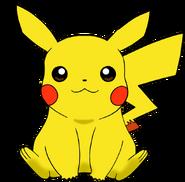 Pikachu digital art pokemon by dark omni-d5wotdb