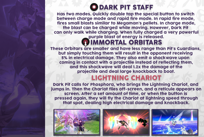 GSS - SSBV Dark Pit New Moves