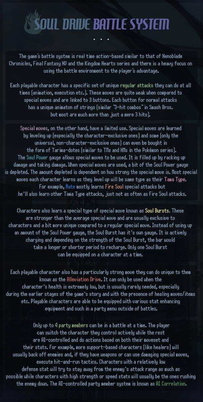 SC- Soul Drive Battle System