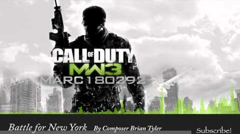 MW3 Soundtrack Battle For New York