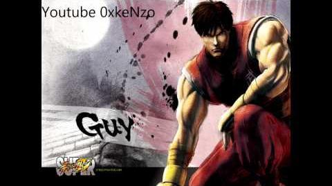 Super Street Fighter 4 Guy Theme Soundtrack HD