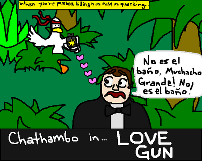 Chathambo in Love Gun