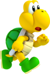 Koopa Troopa Artwork - New Super Mario Bros. 2